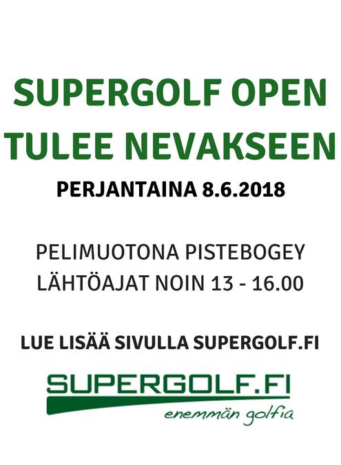 Supergolf open